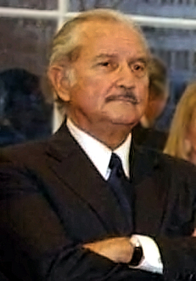 Portrait of Carlos Fuentes