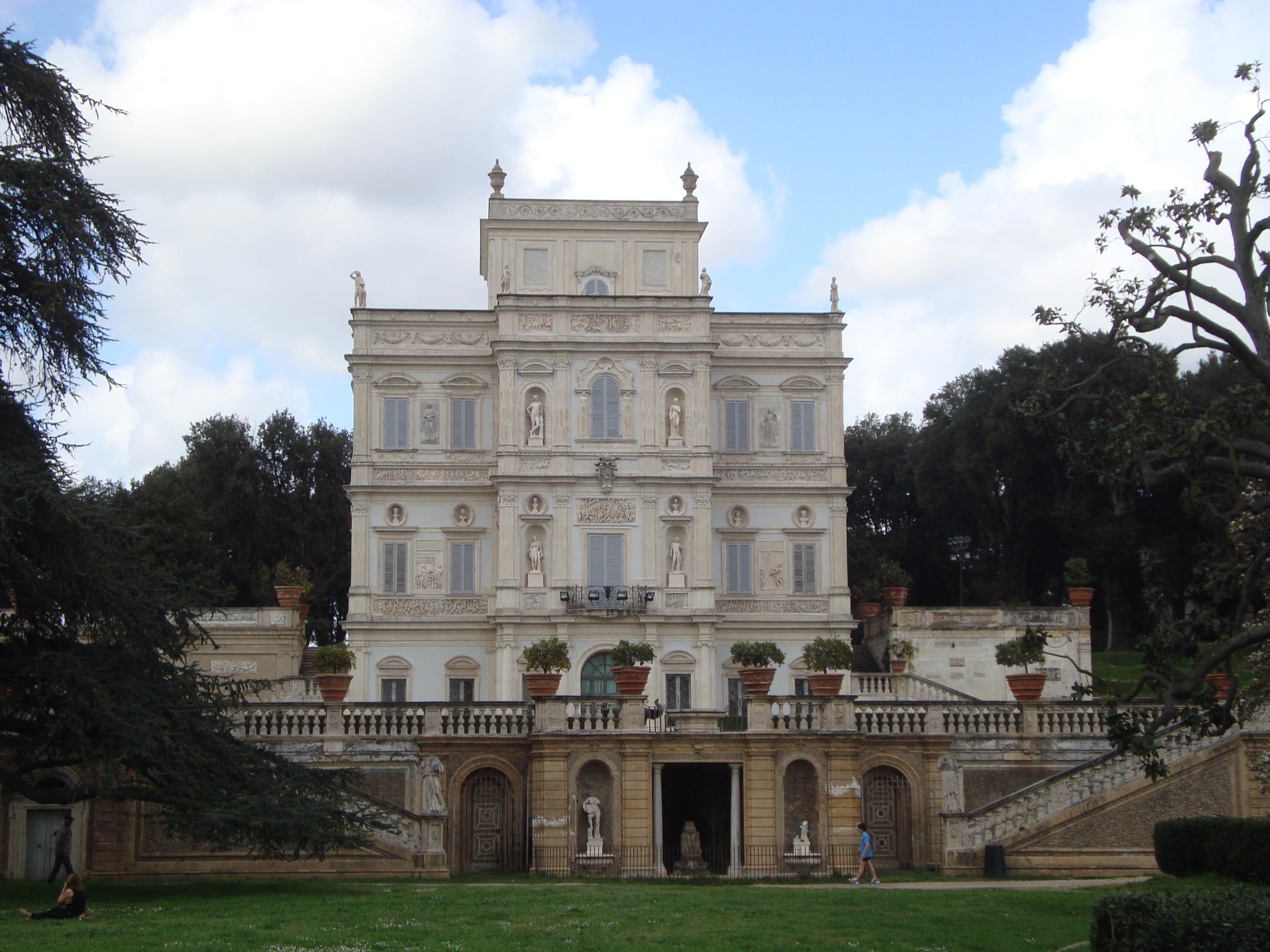 Villa Doria Pamphili Roma Mappa