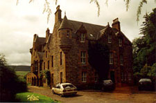 Castle Leod, seat of the chief of Clan Mackenzie.