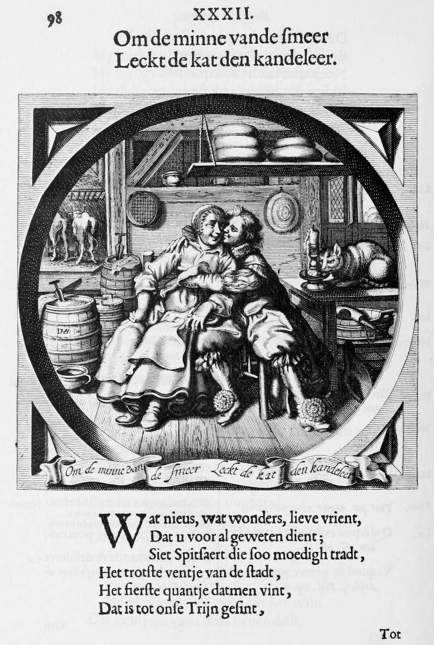 Jacob Cats Emblem Books Maiden S Coat Of Arms