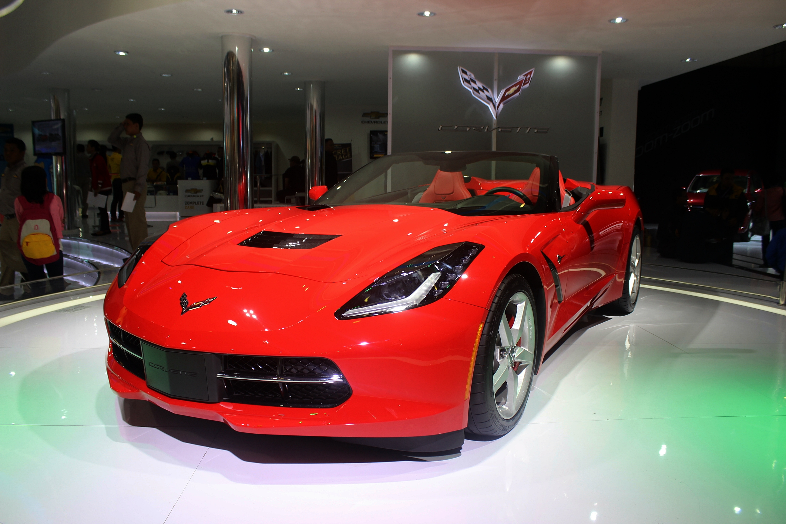 File:Chevrolet Corvette C7 Stingray Convertible   Indonesia International  Motor Show 2014   September 27