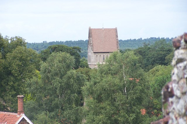 Church Tower at Castle Rising - geograph.org.uk - 522134