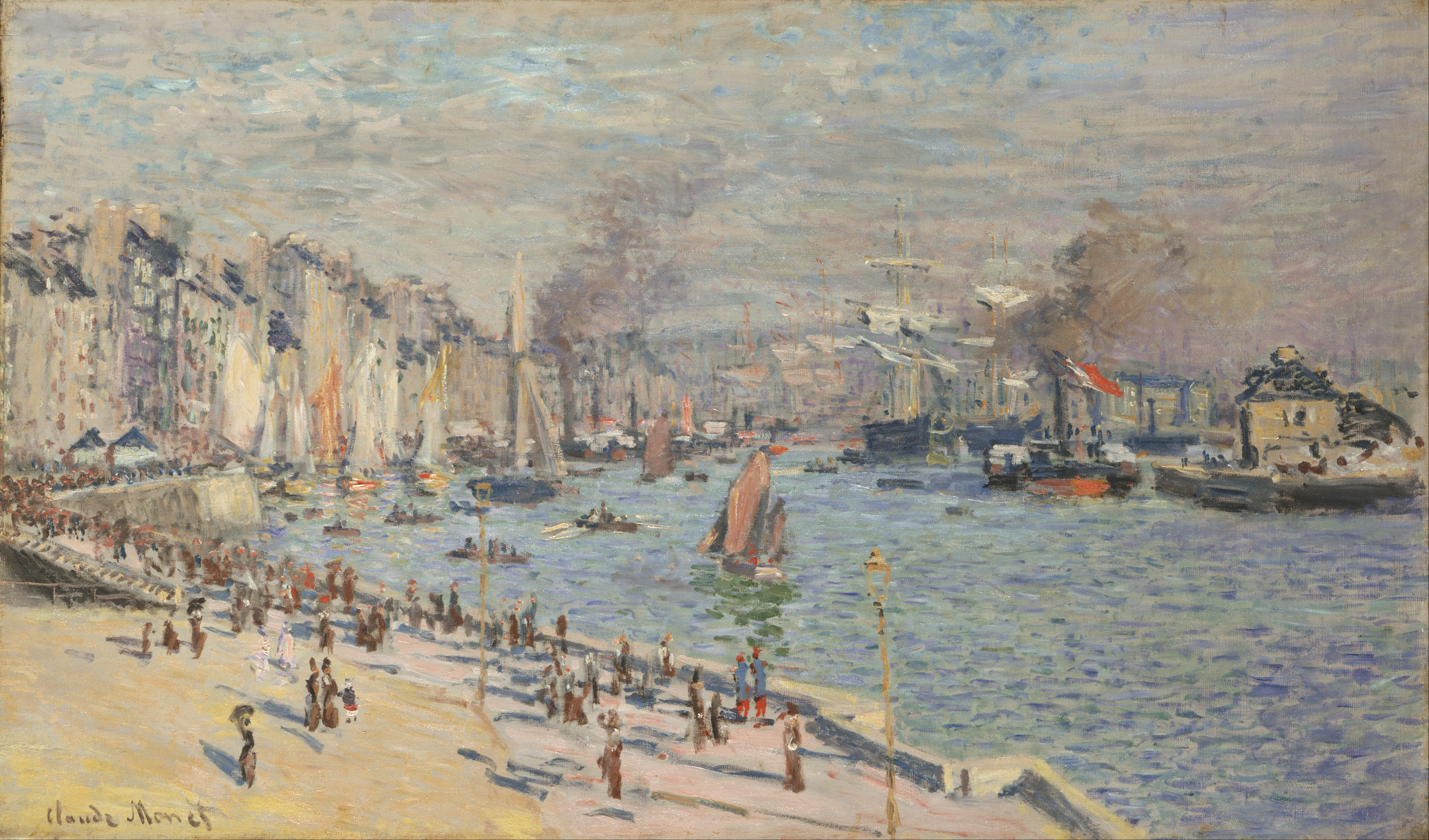 fichier claude monet french port of le havre google art wikip dia. Black Bedroom Furniture Sets. Home Design Ideas