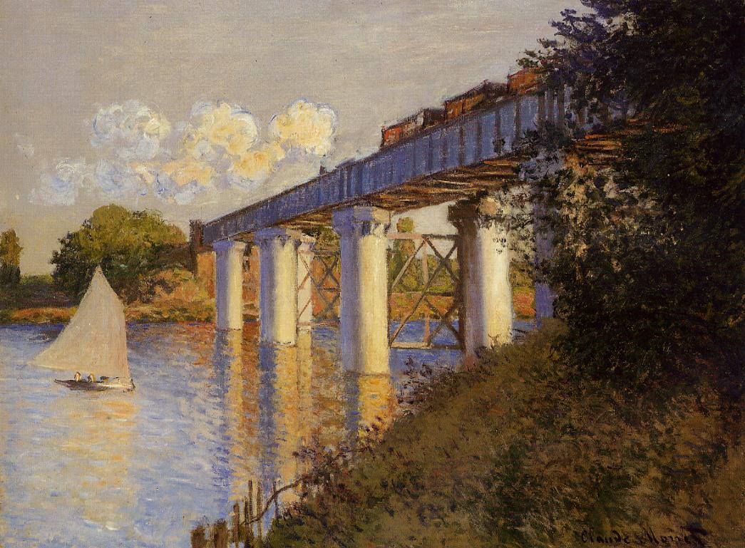 File claude monet the railway bridge at argenteuil for Imag fer forget argenteuil