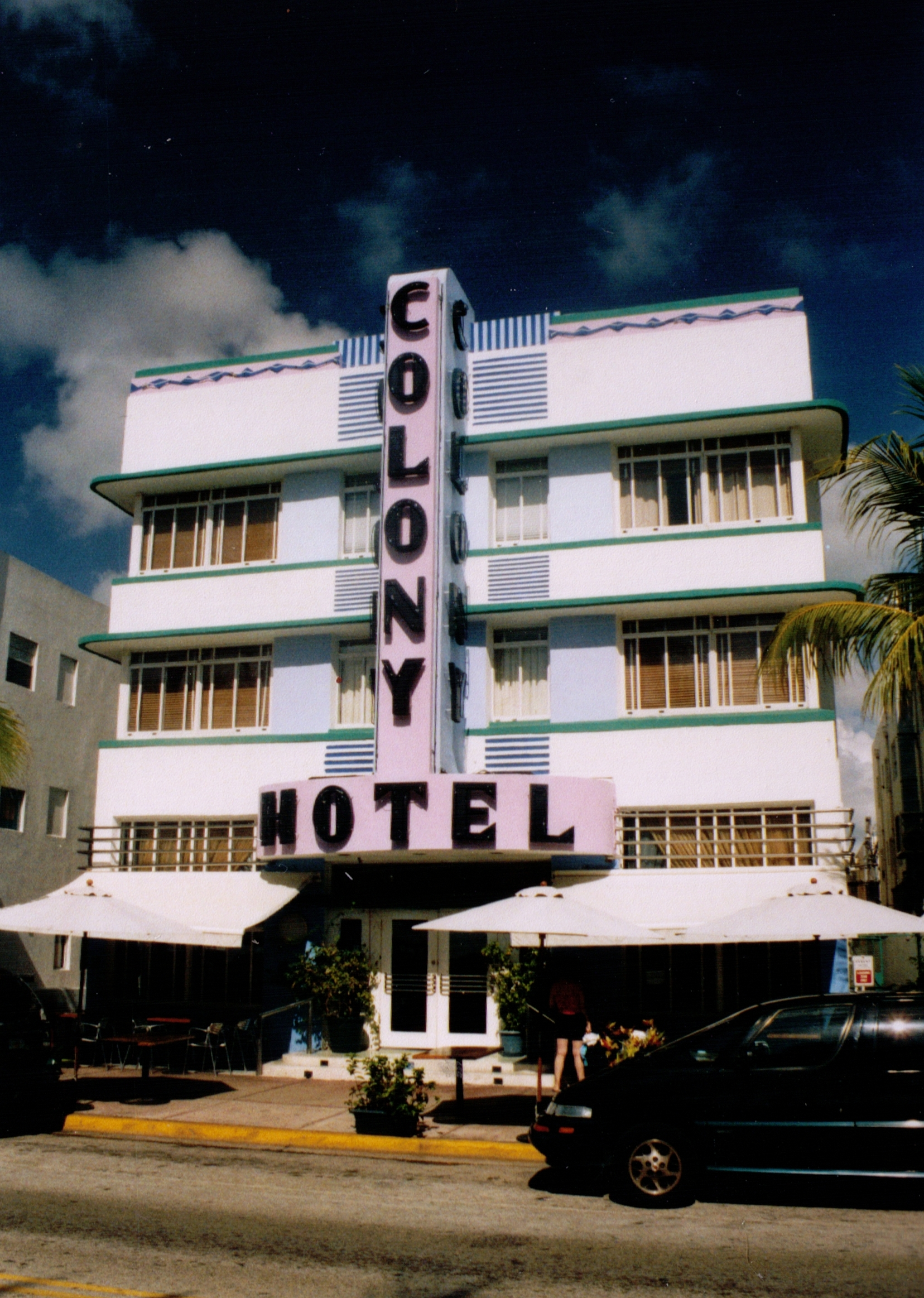 Miami Beach Hotel In Goldfinger