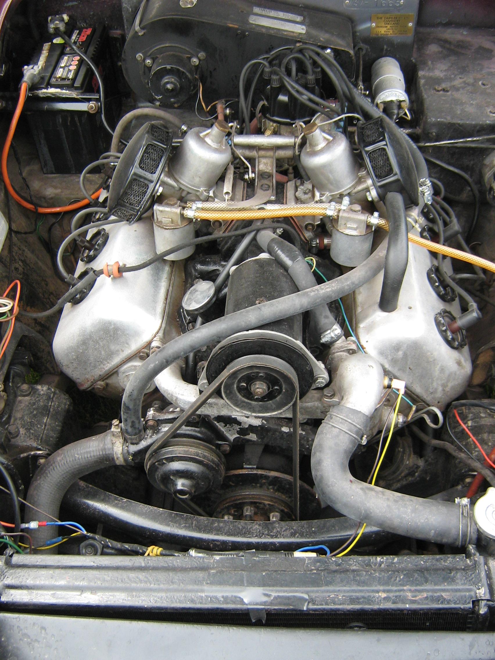 file daimler sp250 v8 engine 1963 3737131536 jpg wikimedia commonsfile daimler sp250 v8 engine 1963 3737131536 jpg