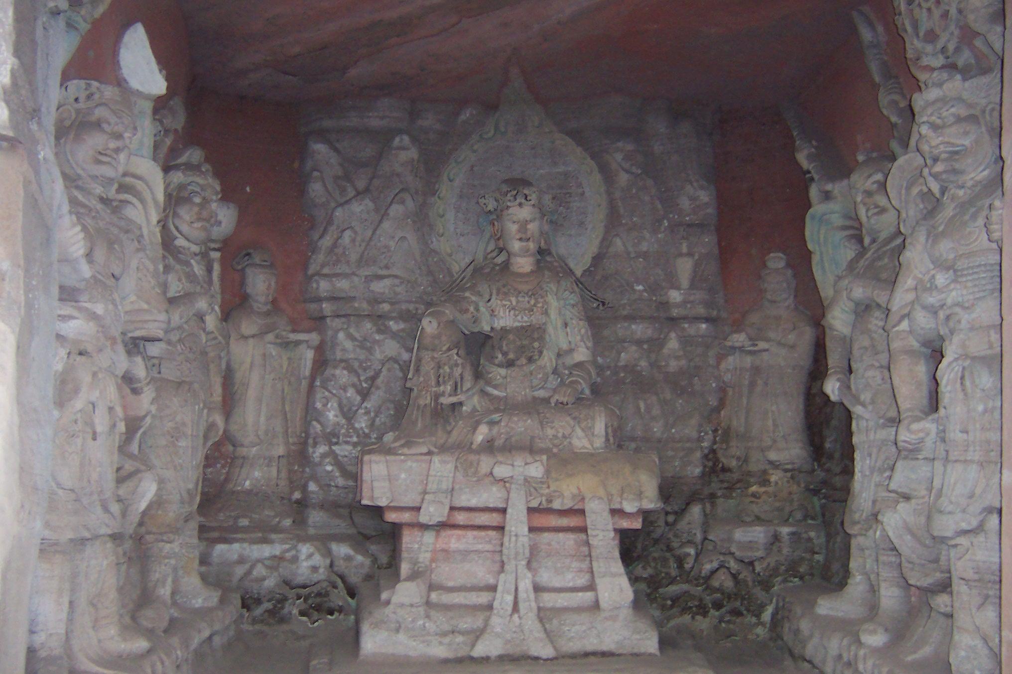 Dazu rock carvings unesco world heritage centre