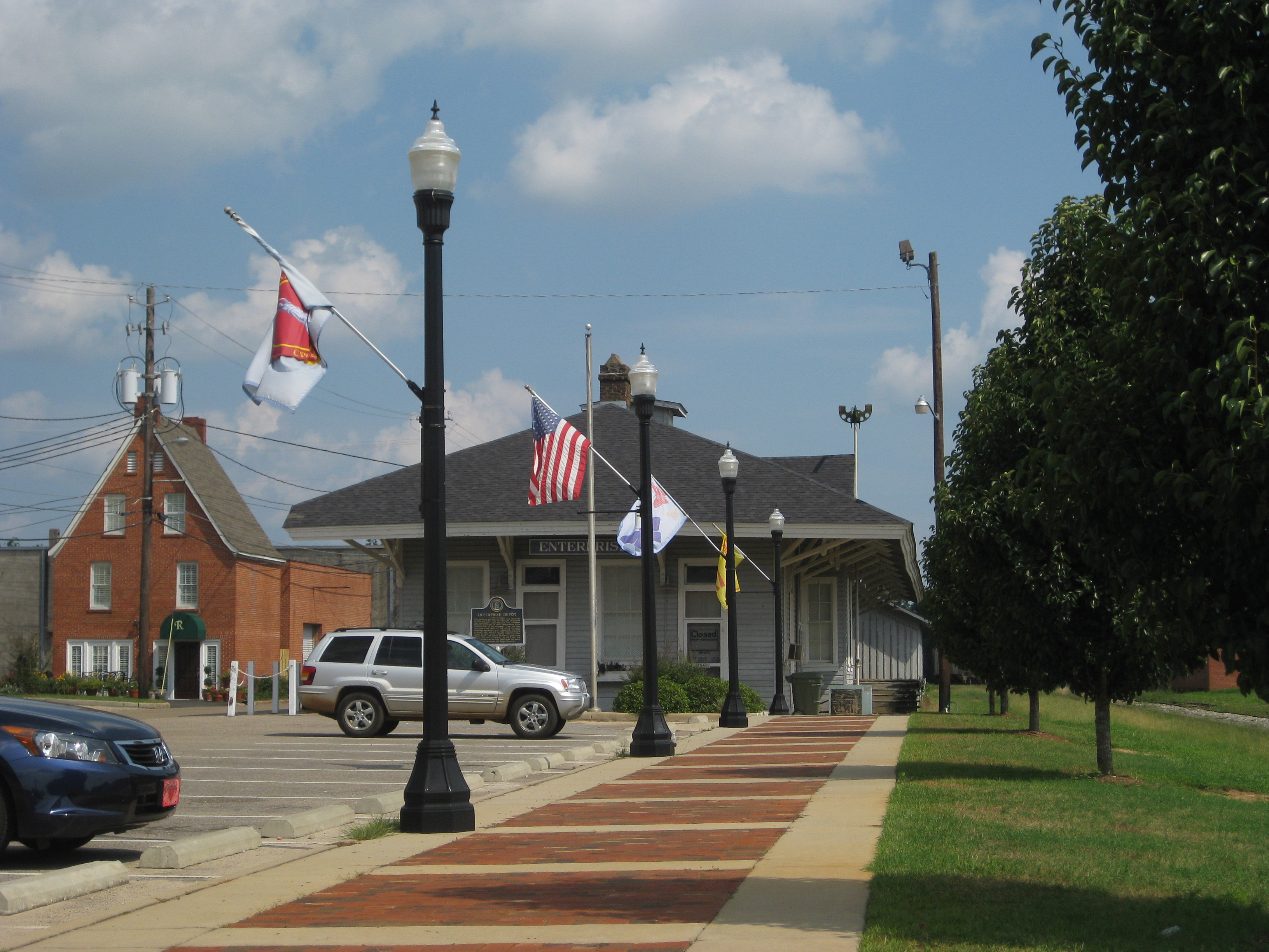 Enterprise (AL) United States  City new picture : Depot Museum Enterprise Alabama Wikipedia, the free ...