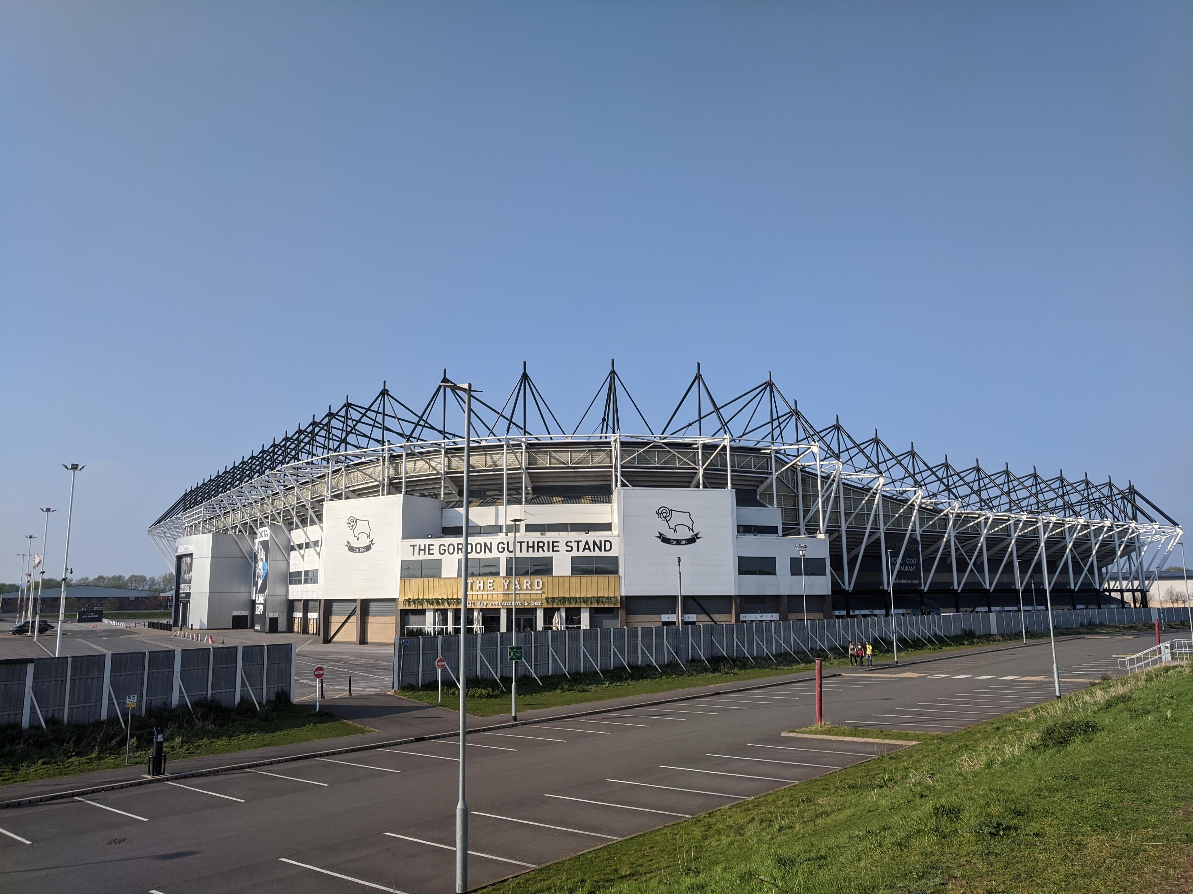 Pride Park Stadium Wikipedia