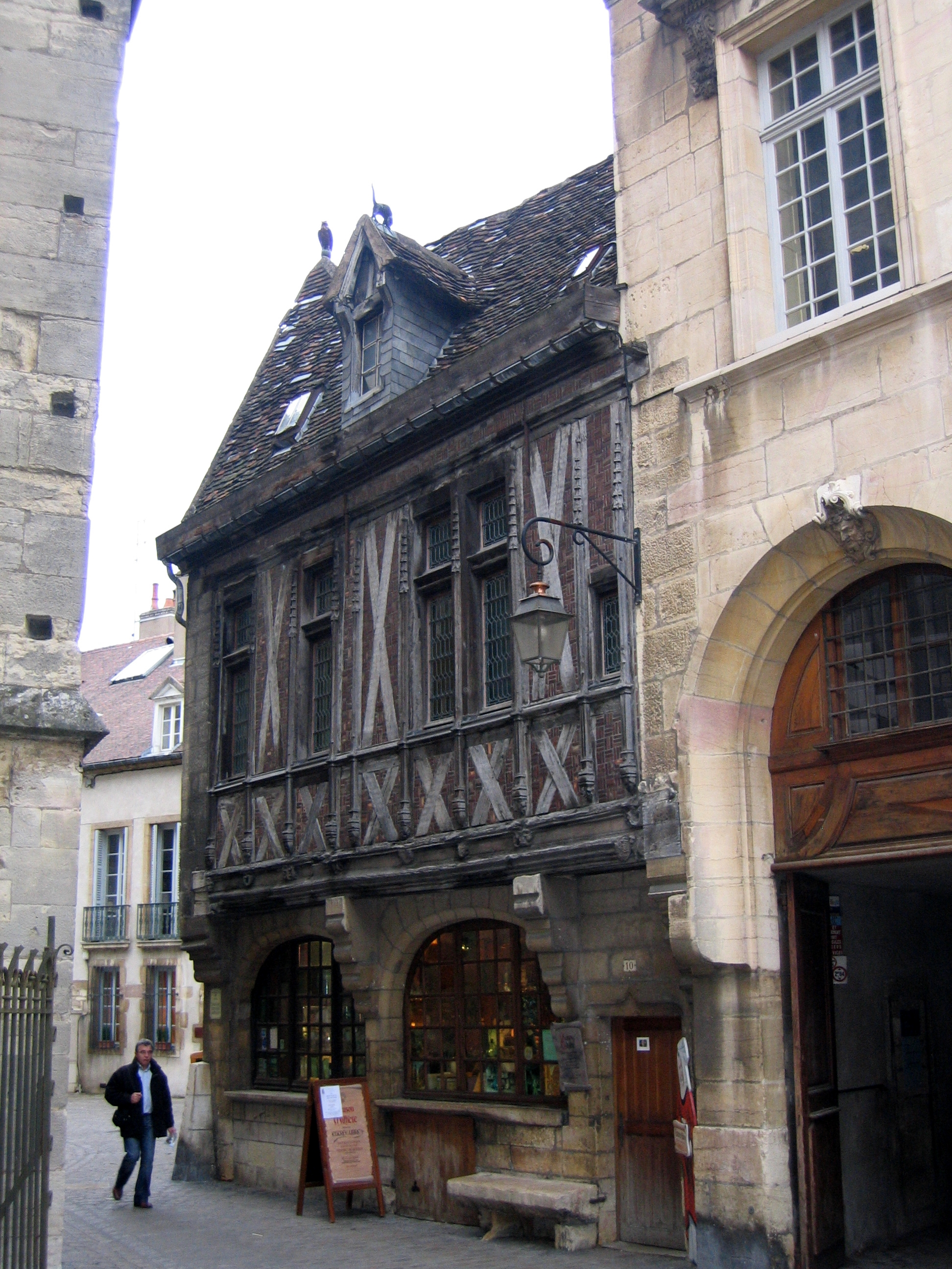 file dijon maison milli 232 re 10 rue de la chouette 102 jpg wikimedia commons