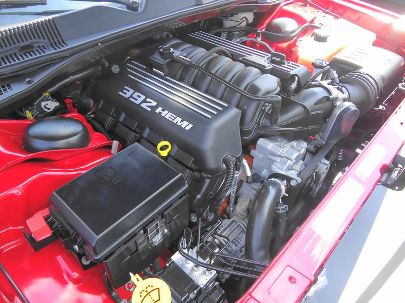 2015 Mitsubishi Eclipse >> File:Dodge Challenger SRT-8 (2011) - 6.4L 392 Hemi V8 Engine - 3.jpg - Wikimedia Commons