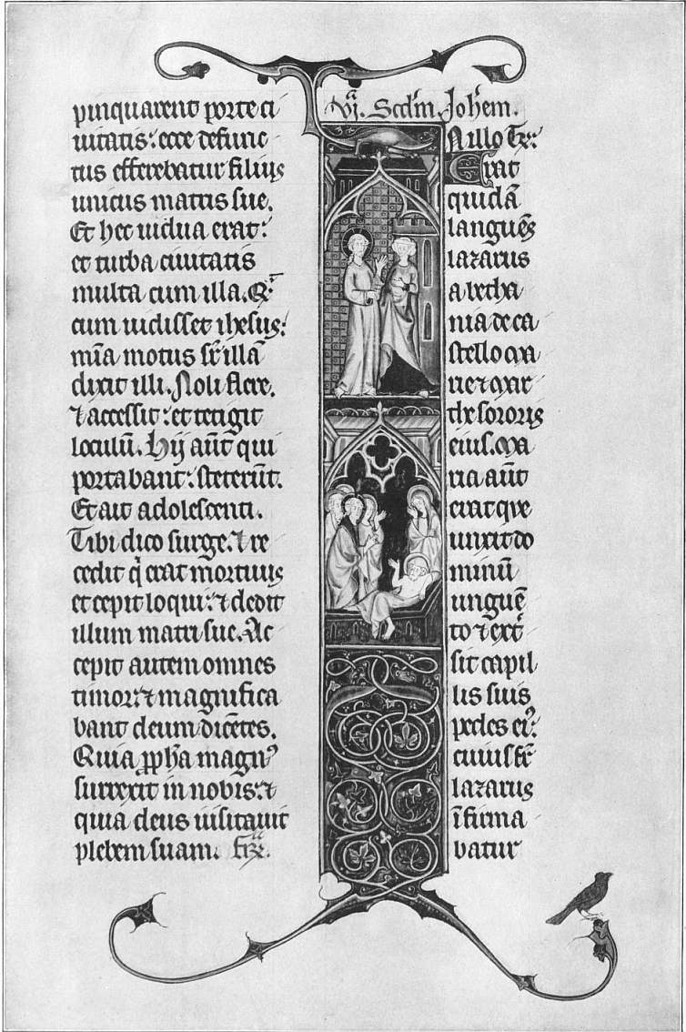 EB1911 ILLUMINATED MSS. —Lectionary, of the use of Paris.—late 13th century.jpg