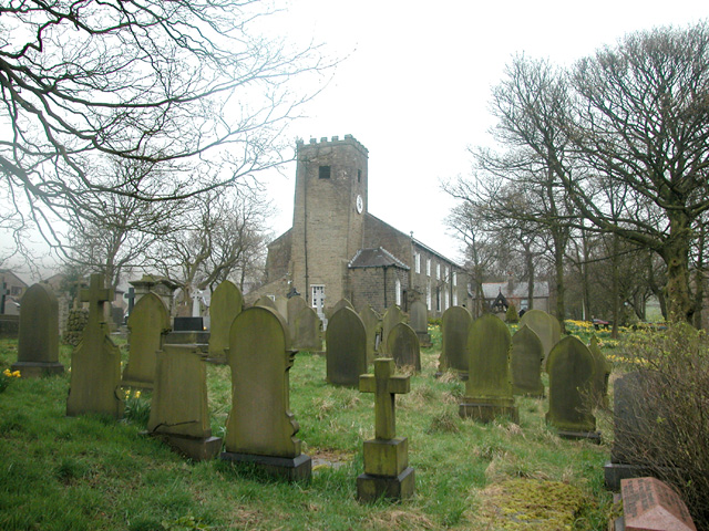 Edenfield Graveyard - geograph.org.uk - 35337