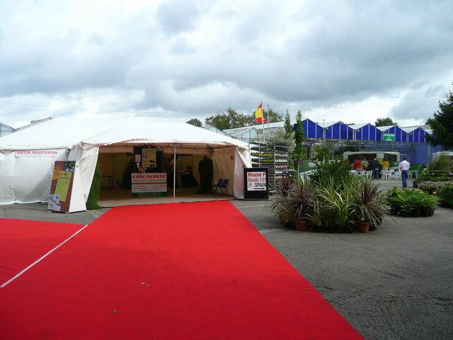 Entrance Trade Show Plexi : Entrance to four oaks trade show this commercial nursery