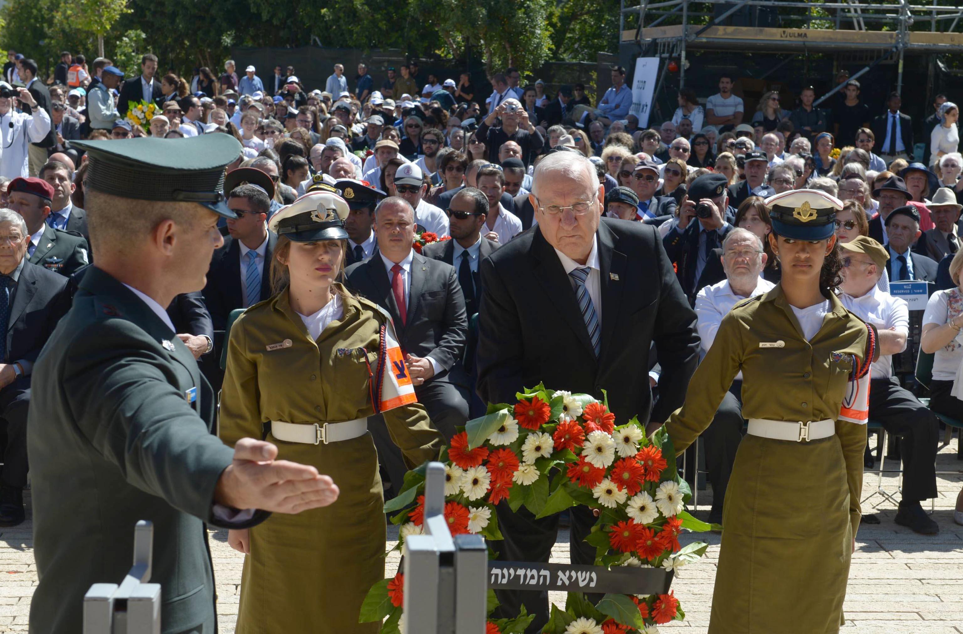 Israel gedachte der Opfer des Holocaust