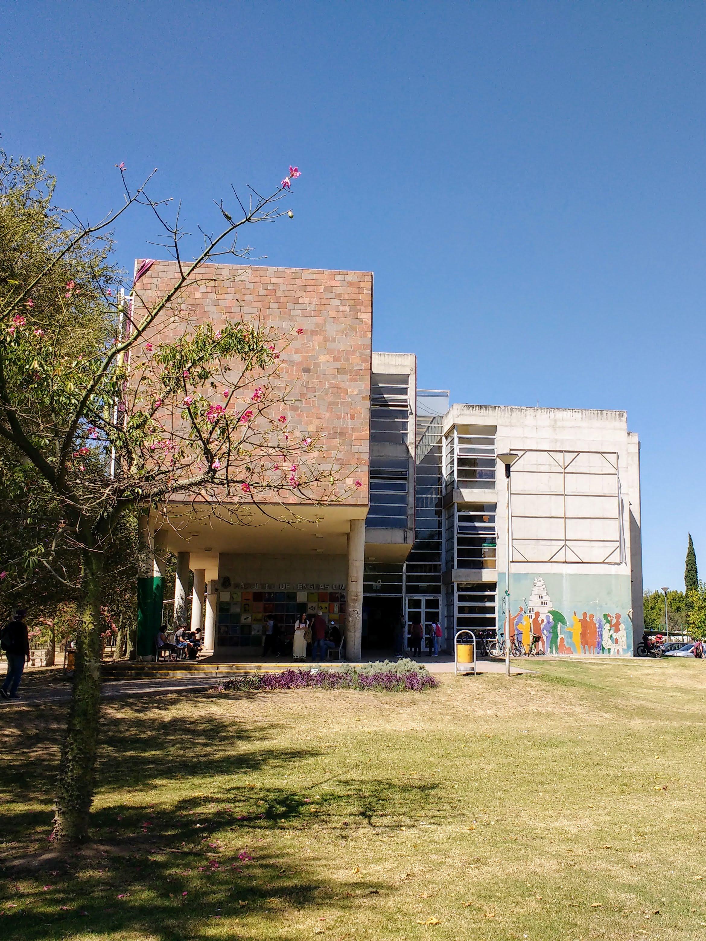 esquema tuyo Refrigerar  Facultad de Lenguas (Universidad Nacional de Córdoba) - Wikipedia, la  enciclopedia libre