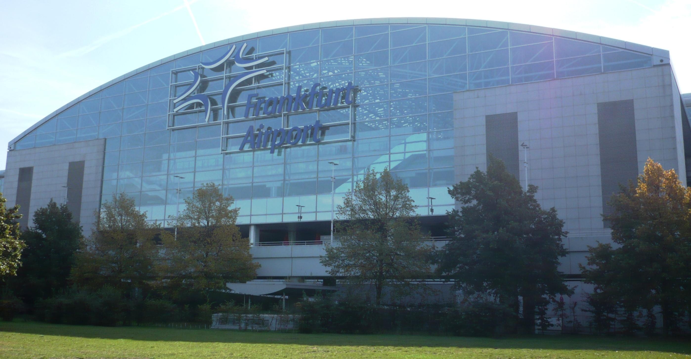 Terminal 2 Ankunft Frankfurt
