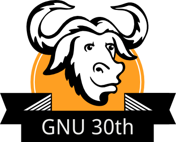 GNU 30th logo.png