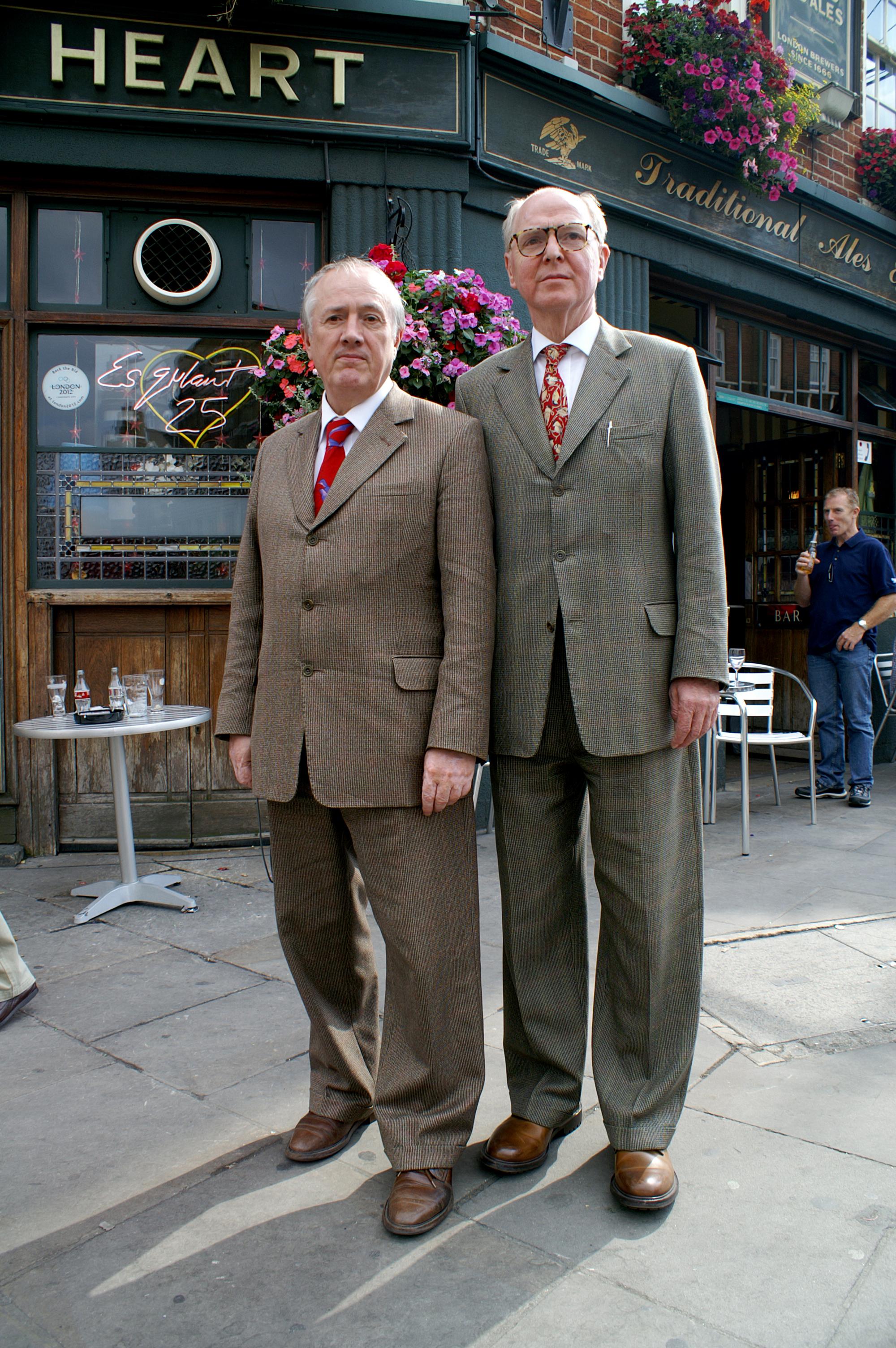 Il duo britannico Gilbert&George