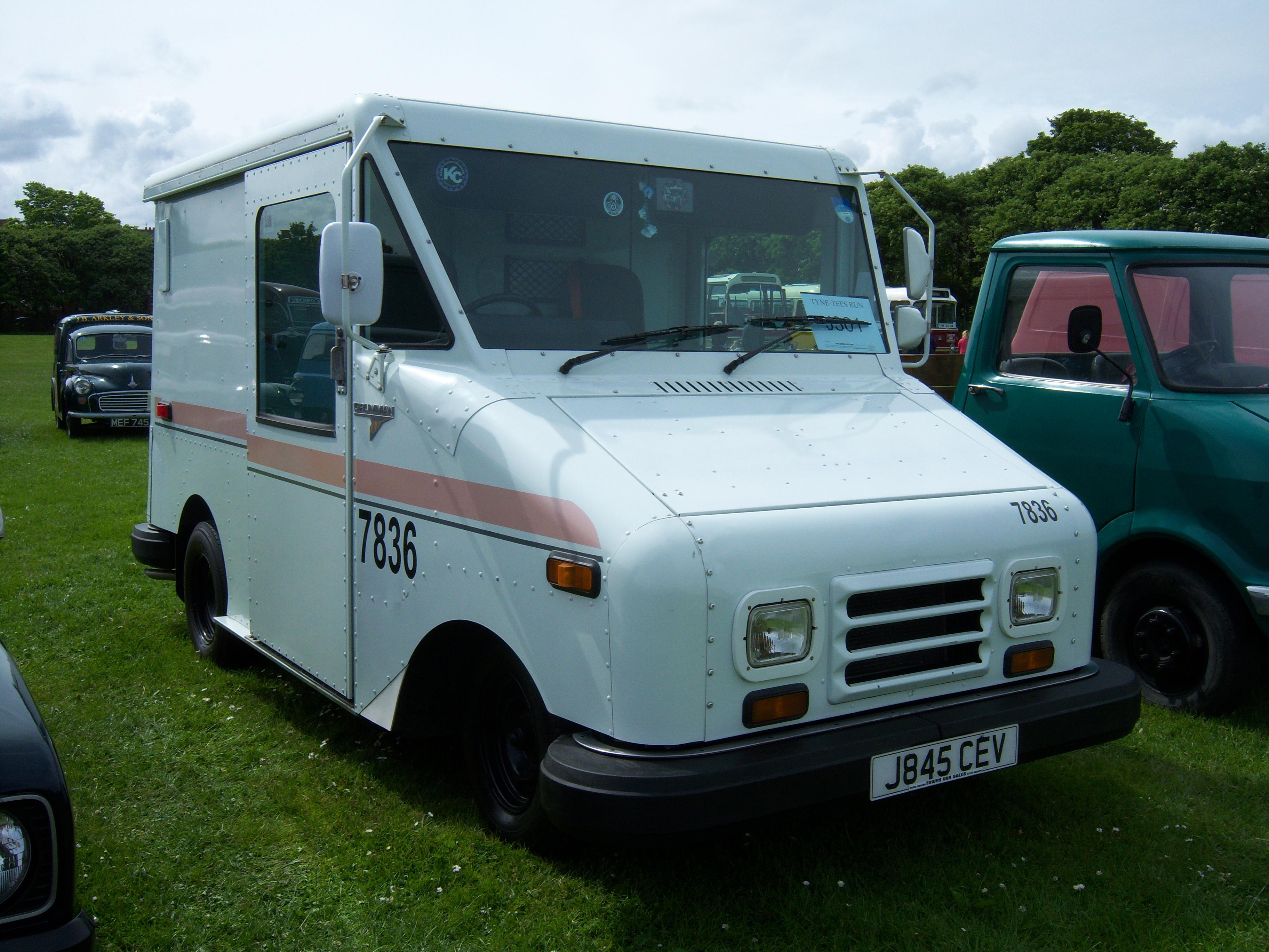 File Grumman Llv J845 Cev Postal Van 2012 Hcvs Tyne