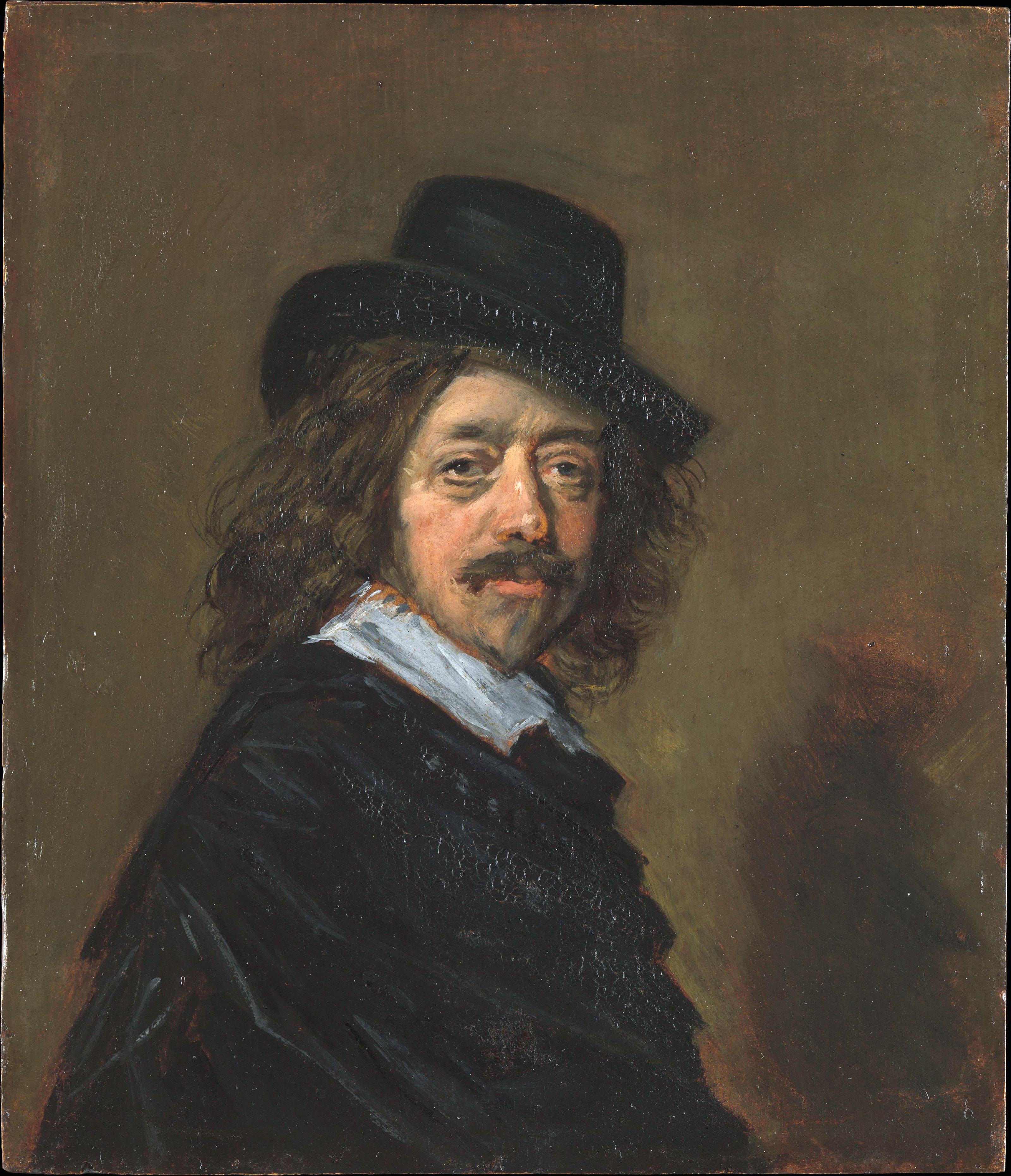 Depiction of Frans Hals