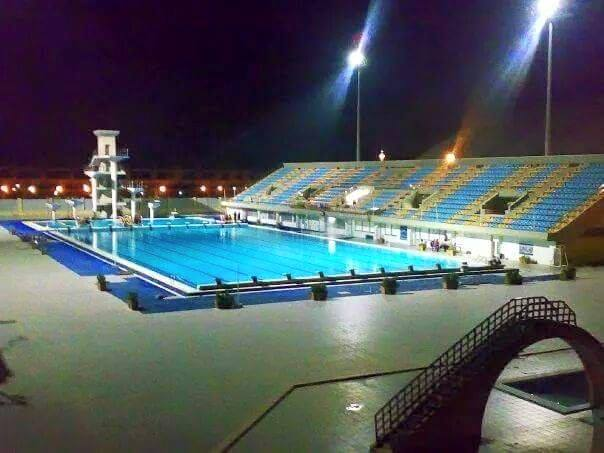 Al hamadaniah olympic swimming and diving complex wikipedia for How deep is a olympic swimming pool