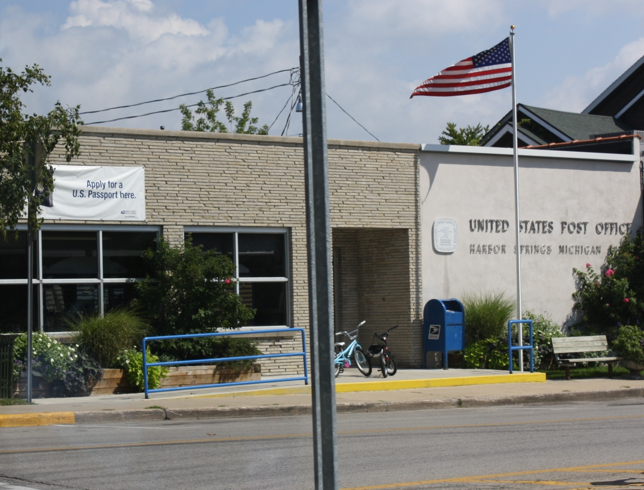 File Harbor Springs Michigan Post Office Jpg Wikipedia