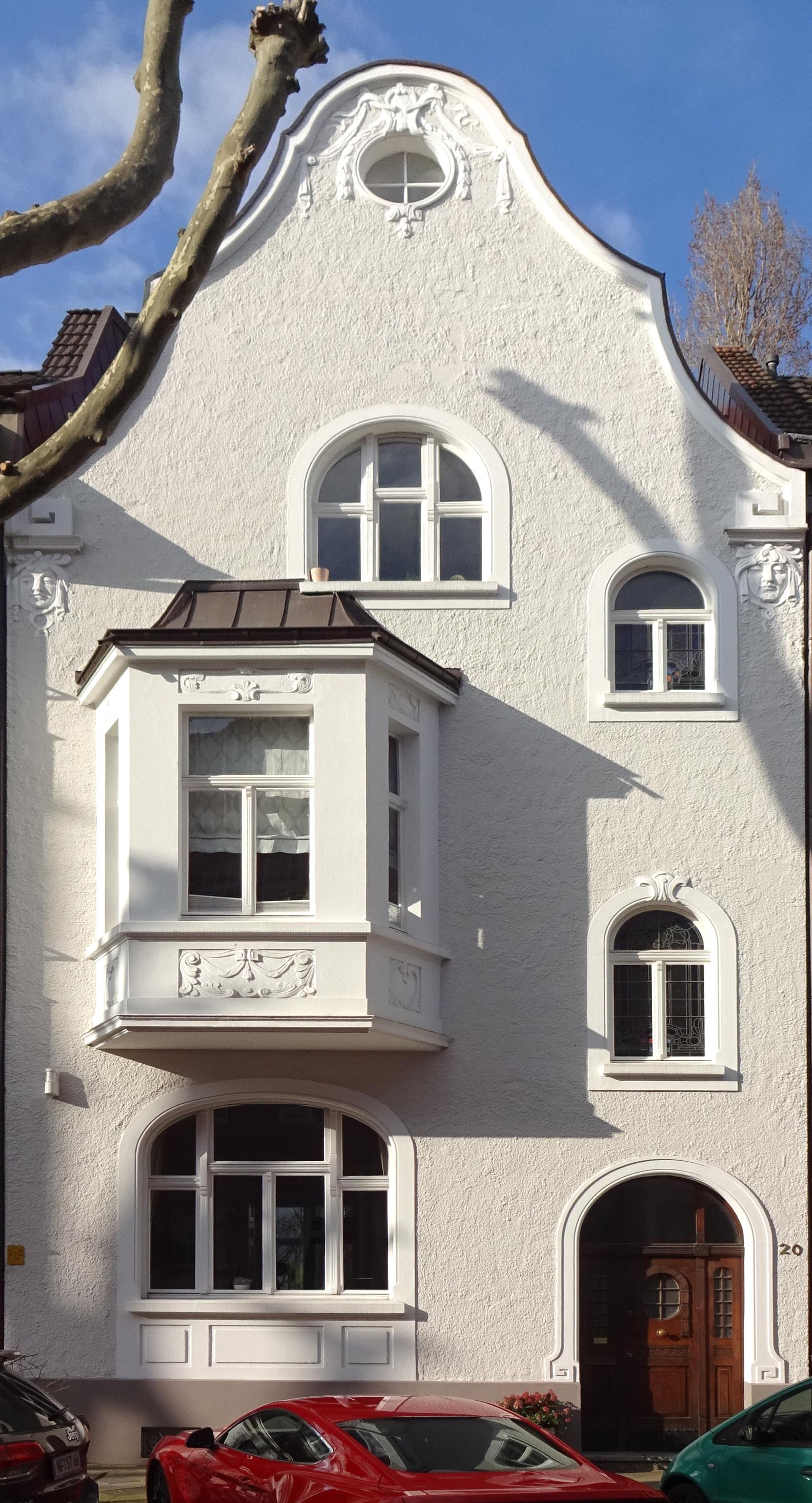 Datei Haus Glücksburger Straße 20 Düsseldorf Oberkassel