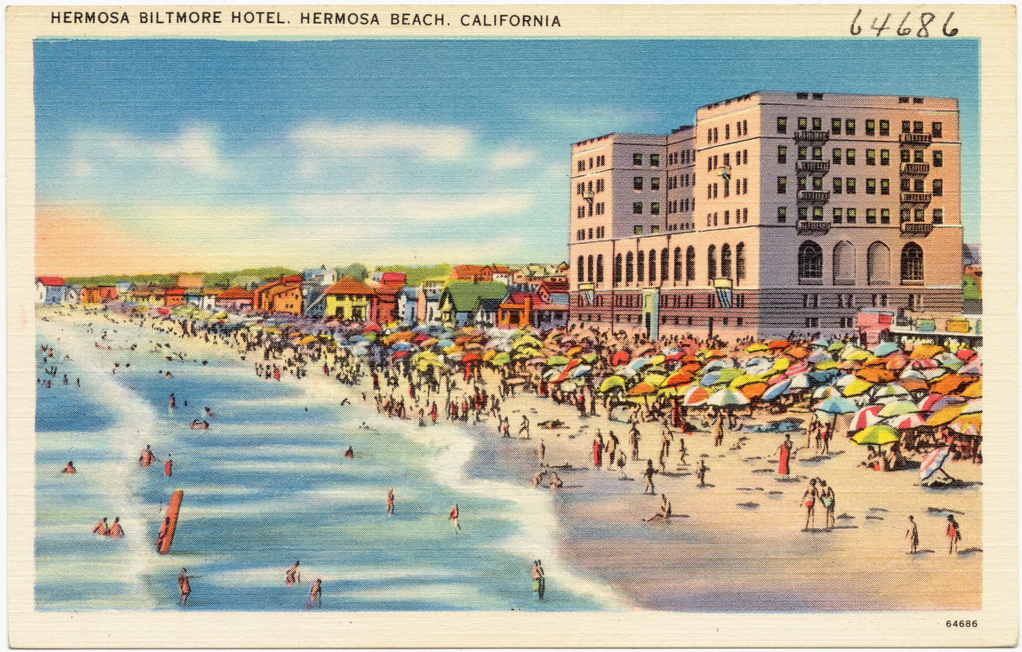 File Hermosa Biltmore Hotel Beach California 64686 Jpg