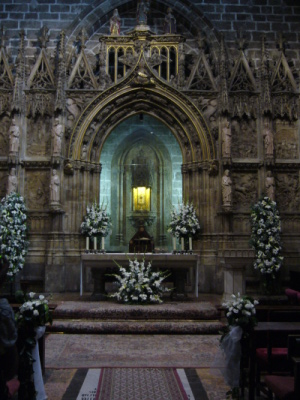 Holy Grail in Valencia, Spain