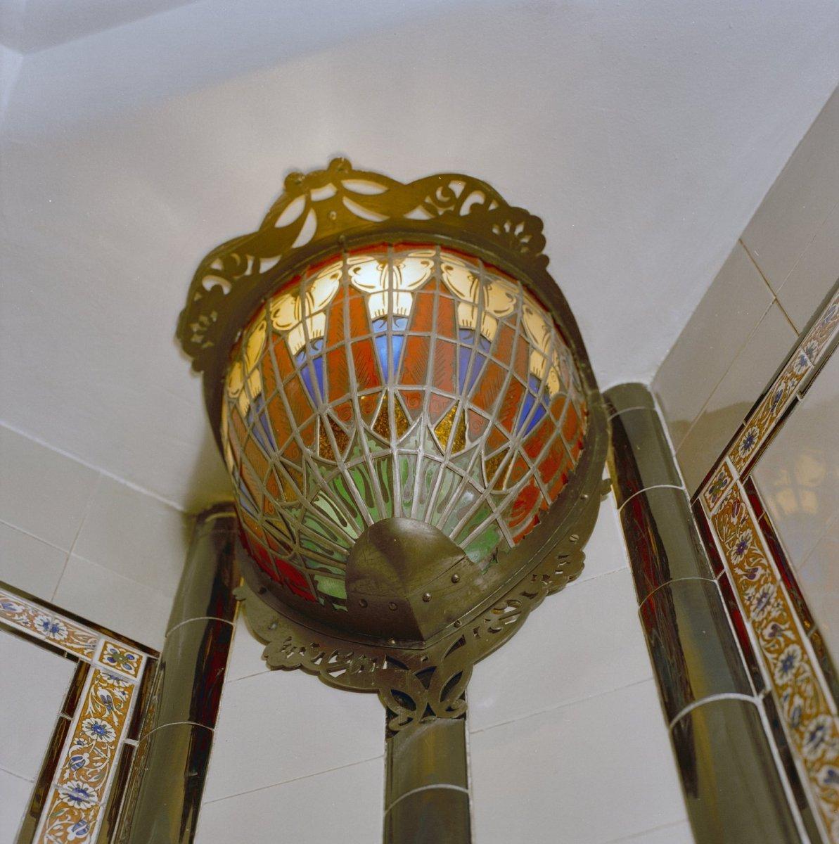 File:INTERIEUR, BADKAMER (ART DECO) LAMP - Den Dolder - 20280113 - RCE ...