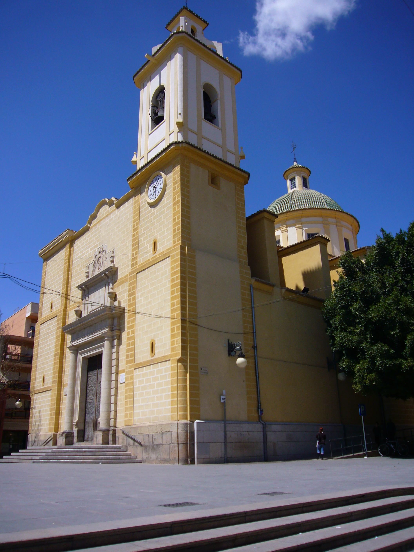 File iglesia san vicente ferrer jpg wikimedia commons - Farmacia san vicente del raspeig ...