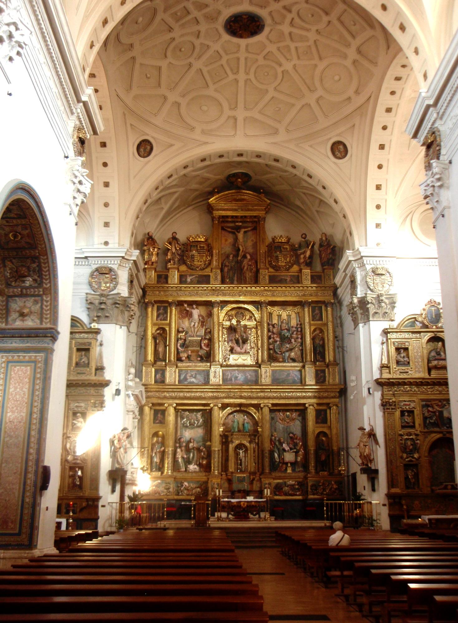 Archivo Iglesia De San Miguel Valladolid Interior Hacia