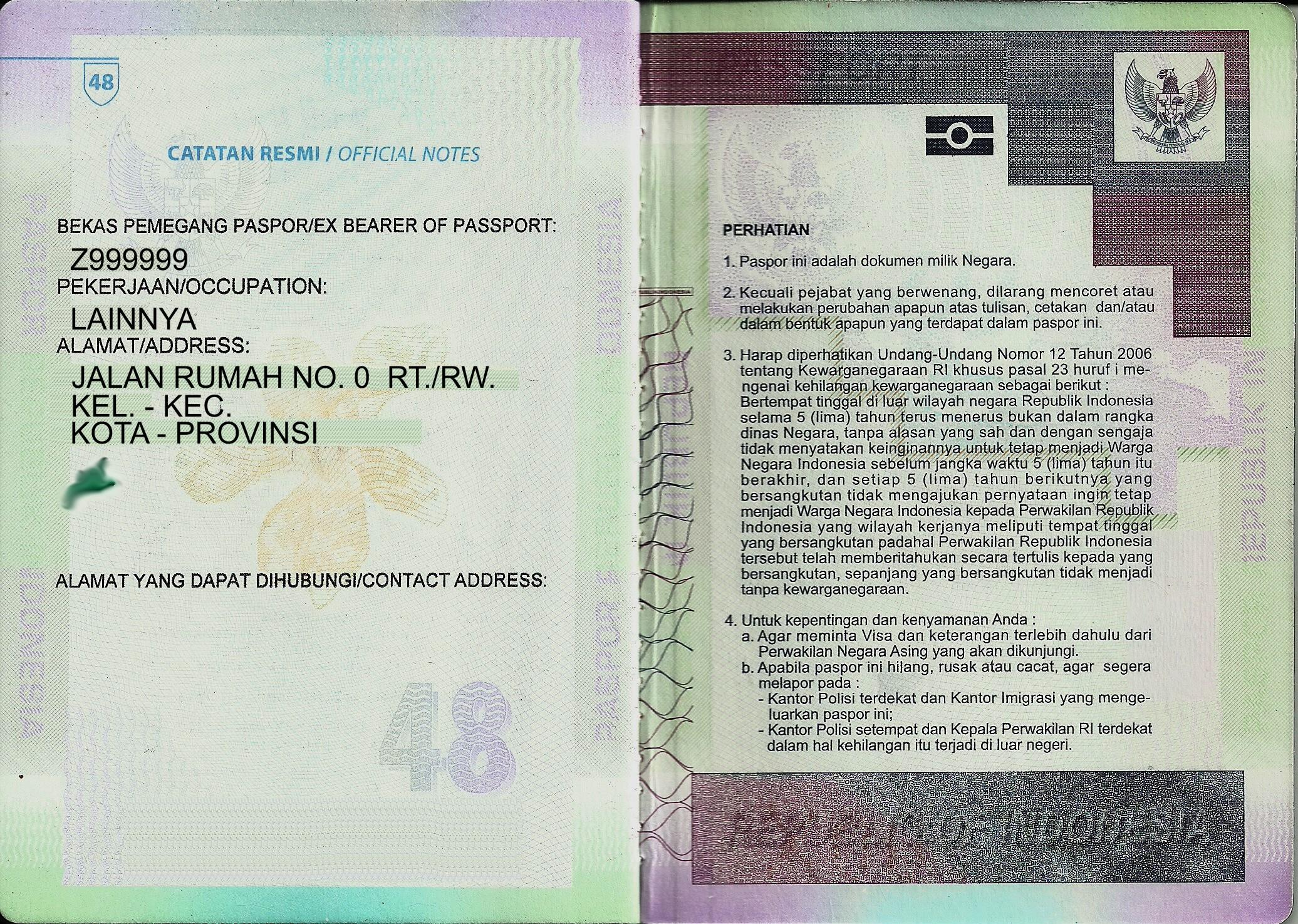 new zealand visa application indonesian passport