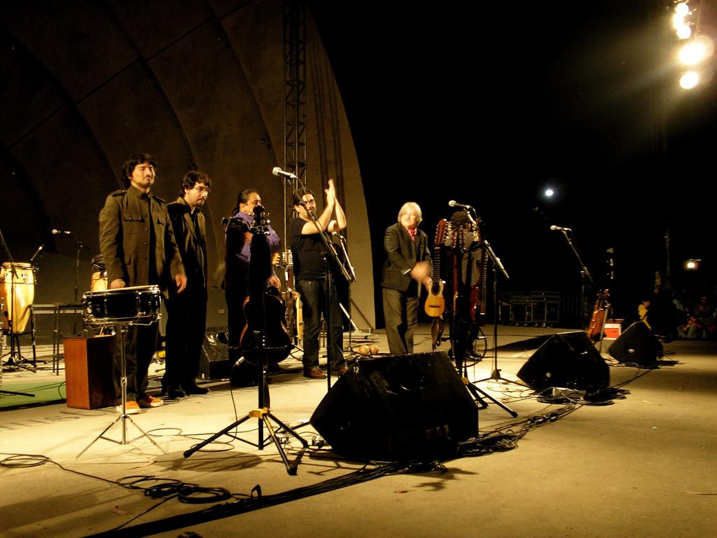 Inti-Illimani en un concierto