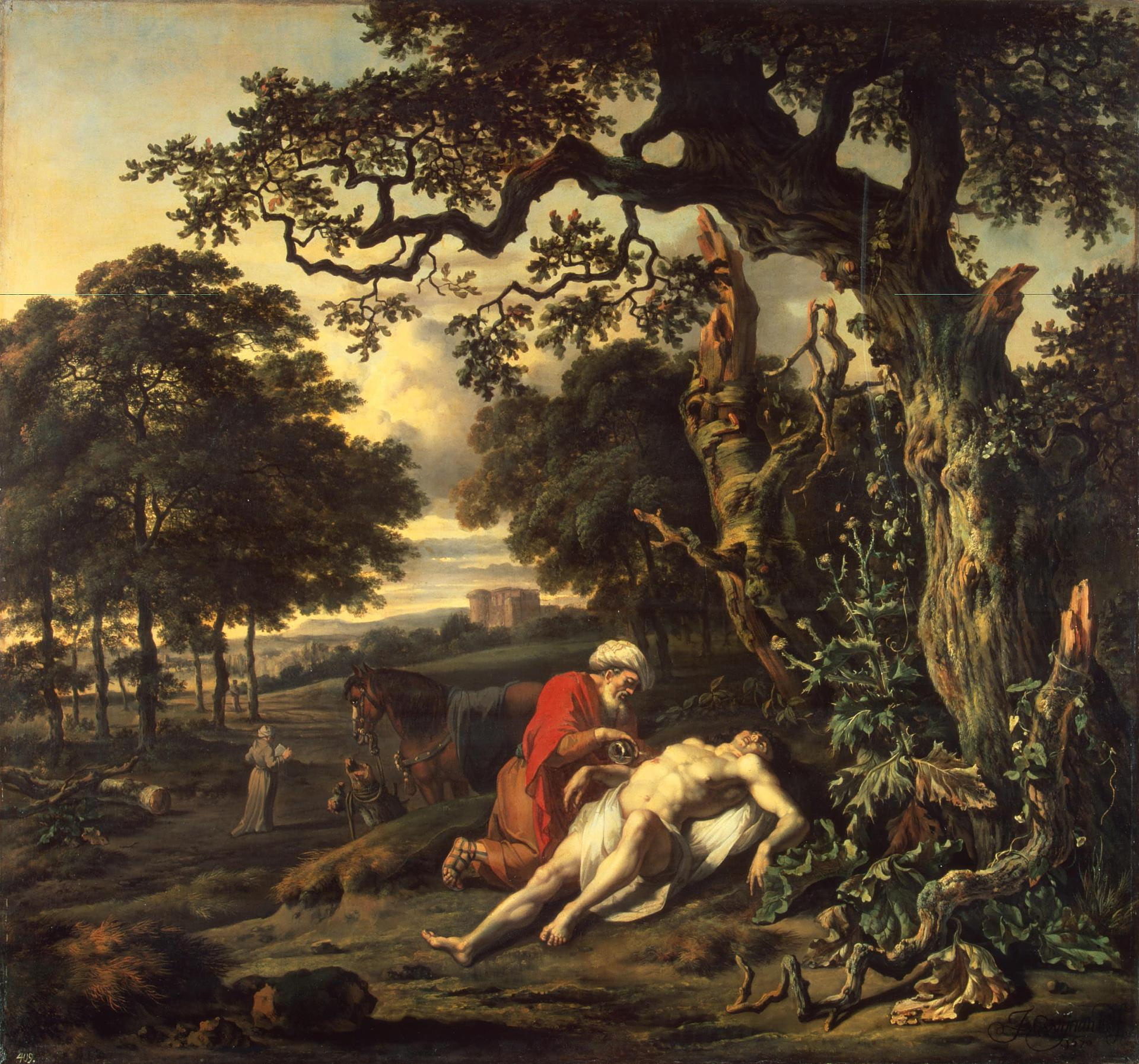 http://upload.wikimedia.org/wikipedia/commons/f/f2/Jan_Wijnants_-_Parable_of_the_Good_Samaritan.jpg
