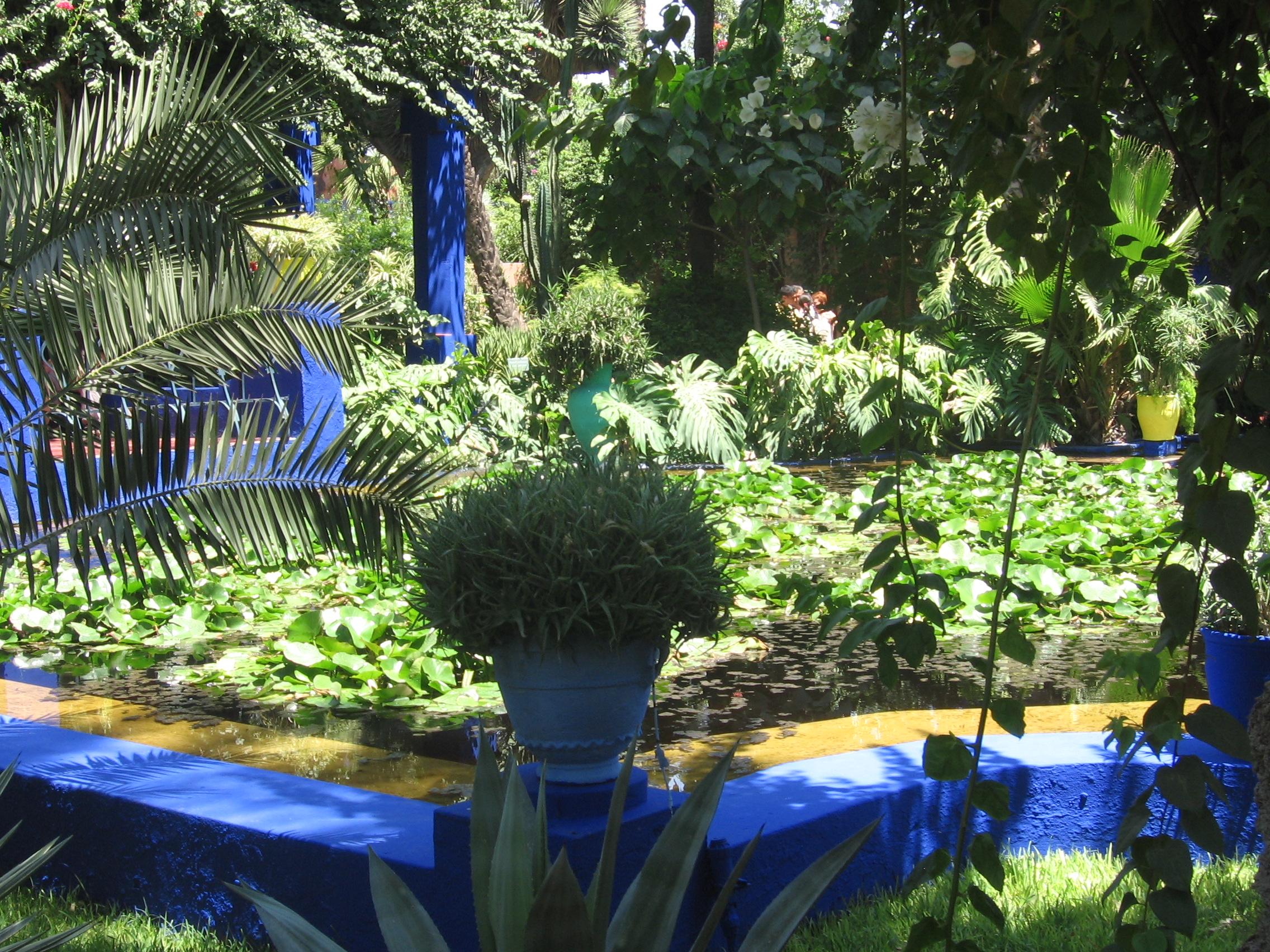 File jardin de majorelle wikimedia commons for Jardin majorelle