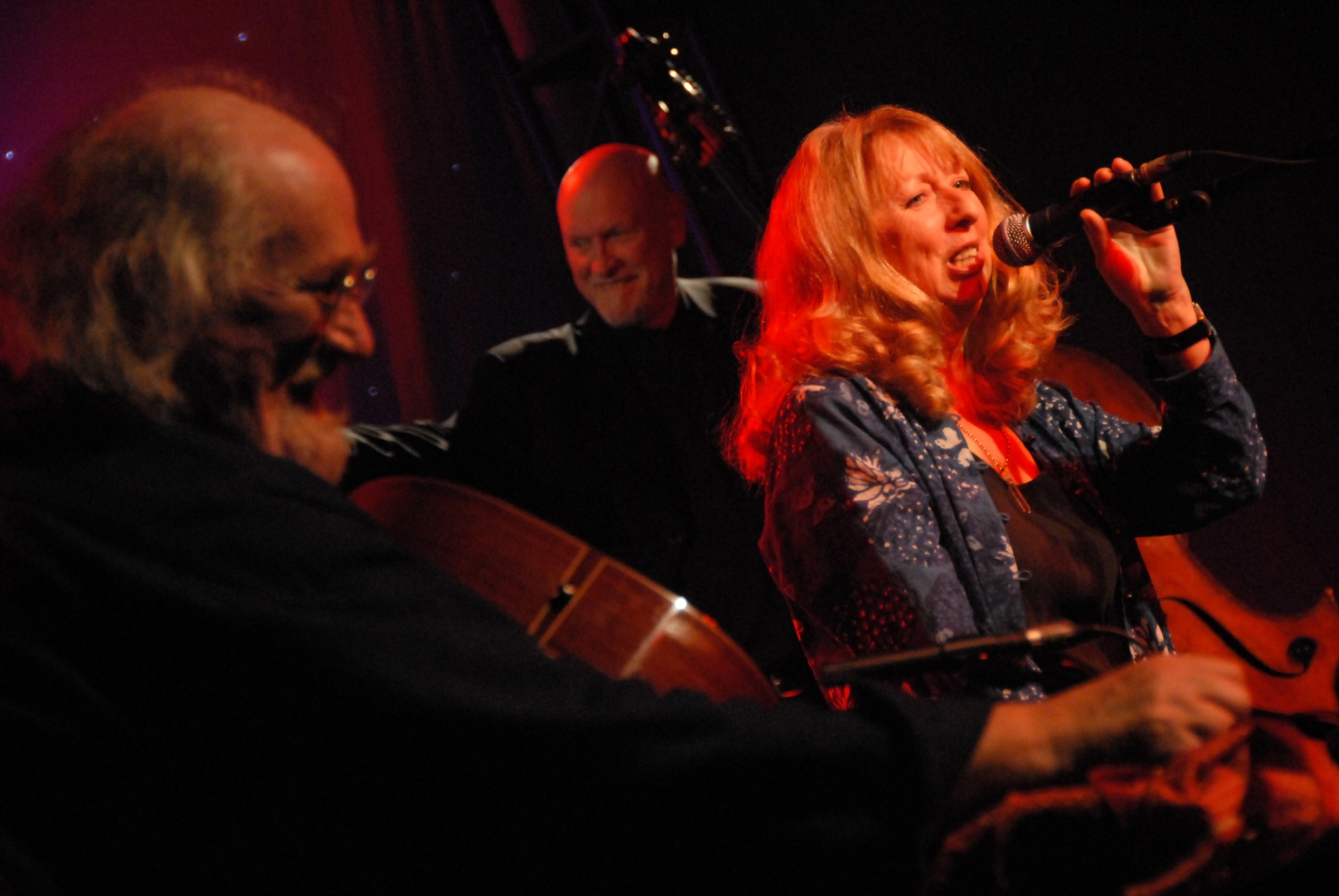 File:John Renbourn, Danny Thompson and Jacqui McShee perform together as Pentangle after a thirty year break! (383150127).jpg