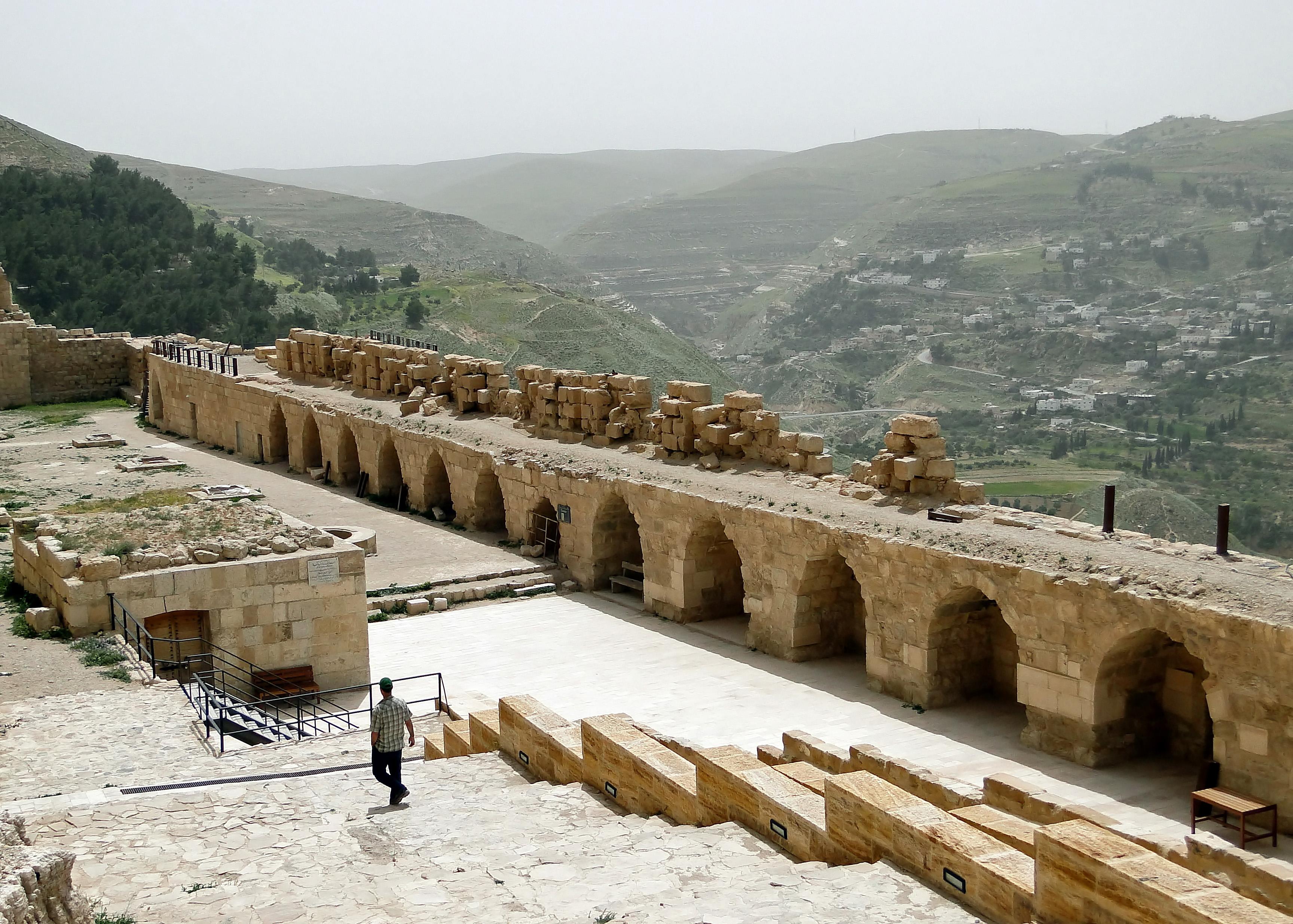 Karak Jordan  city images : The Lower court Al Karak, Jordan