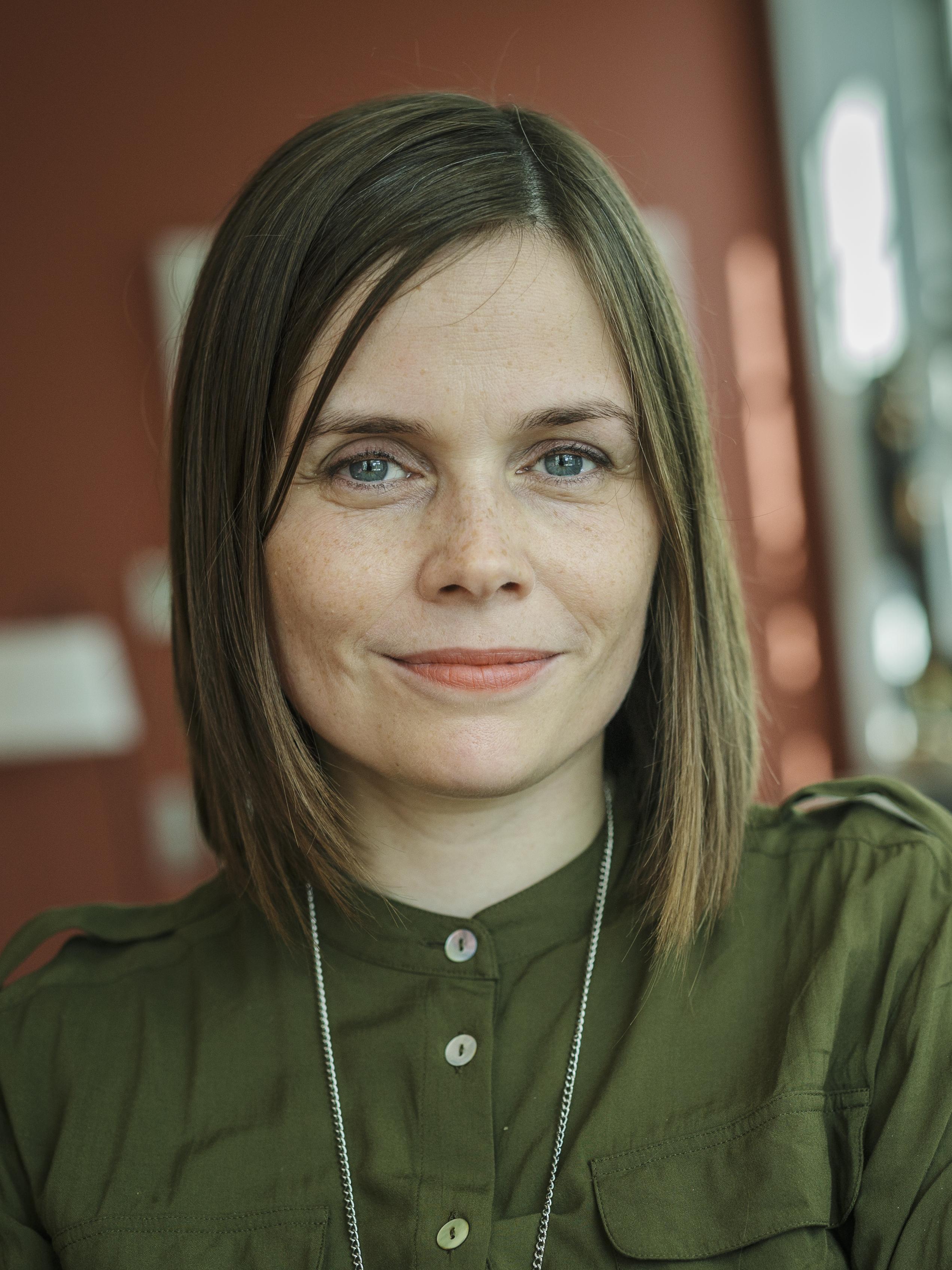 Katrín Jakobsdóttir — Wikipédia