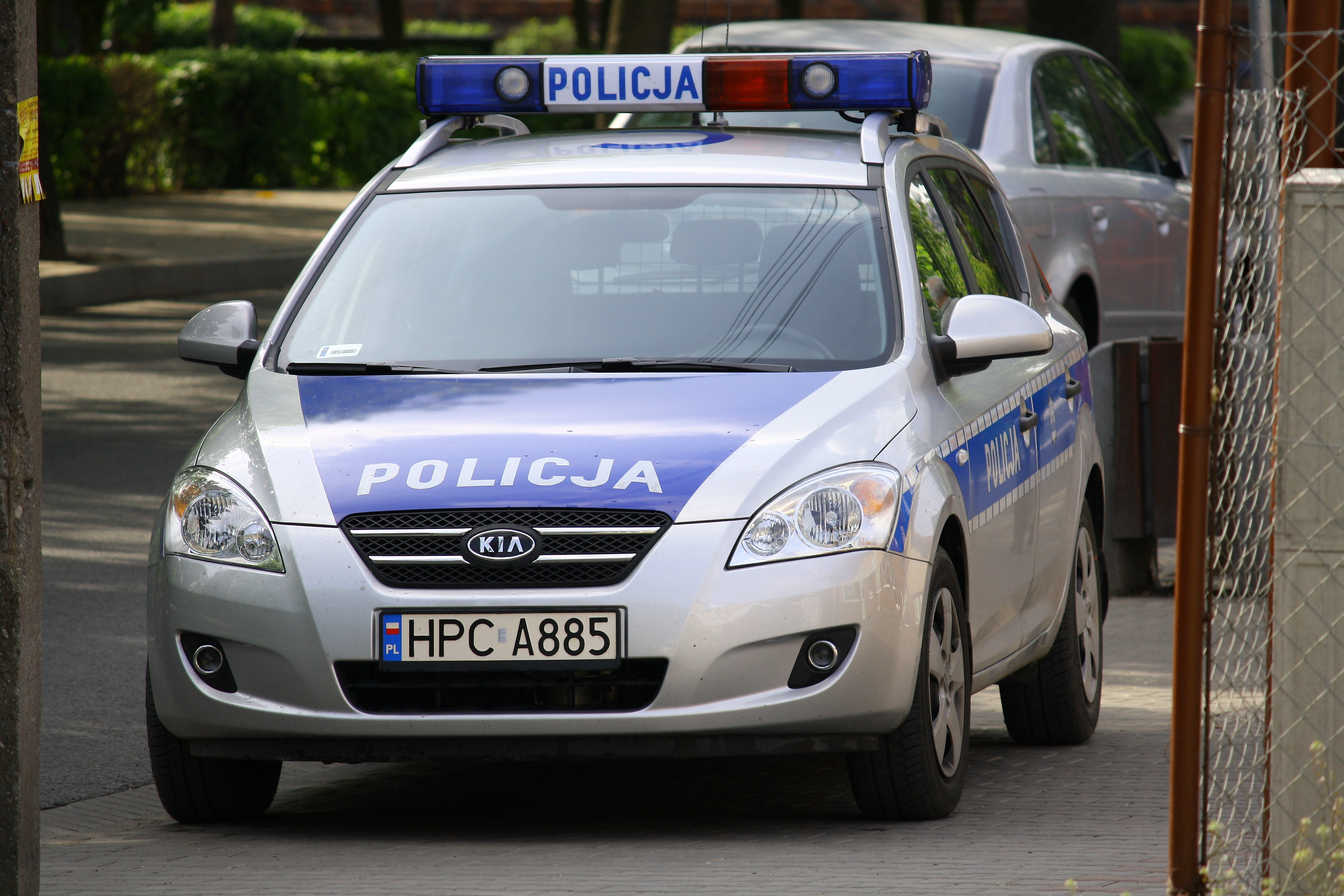 file kia cee 39 d polish police jpg wikimedia commons. Black Bedroom Furniture Sets. Home Design Ideas