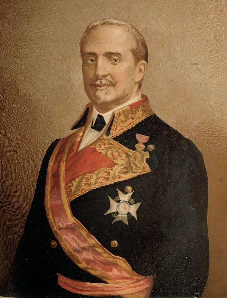 Litografía de Leopoldo O´Donnell