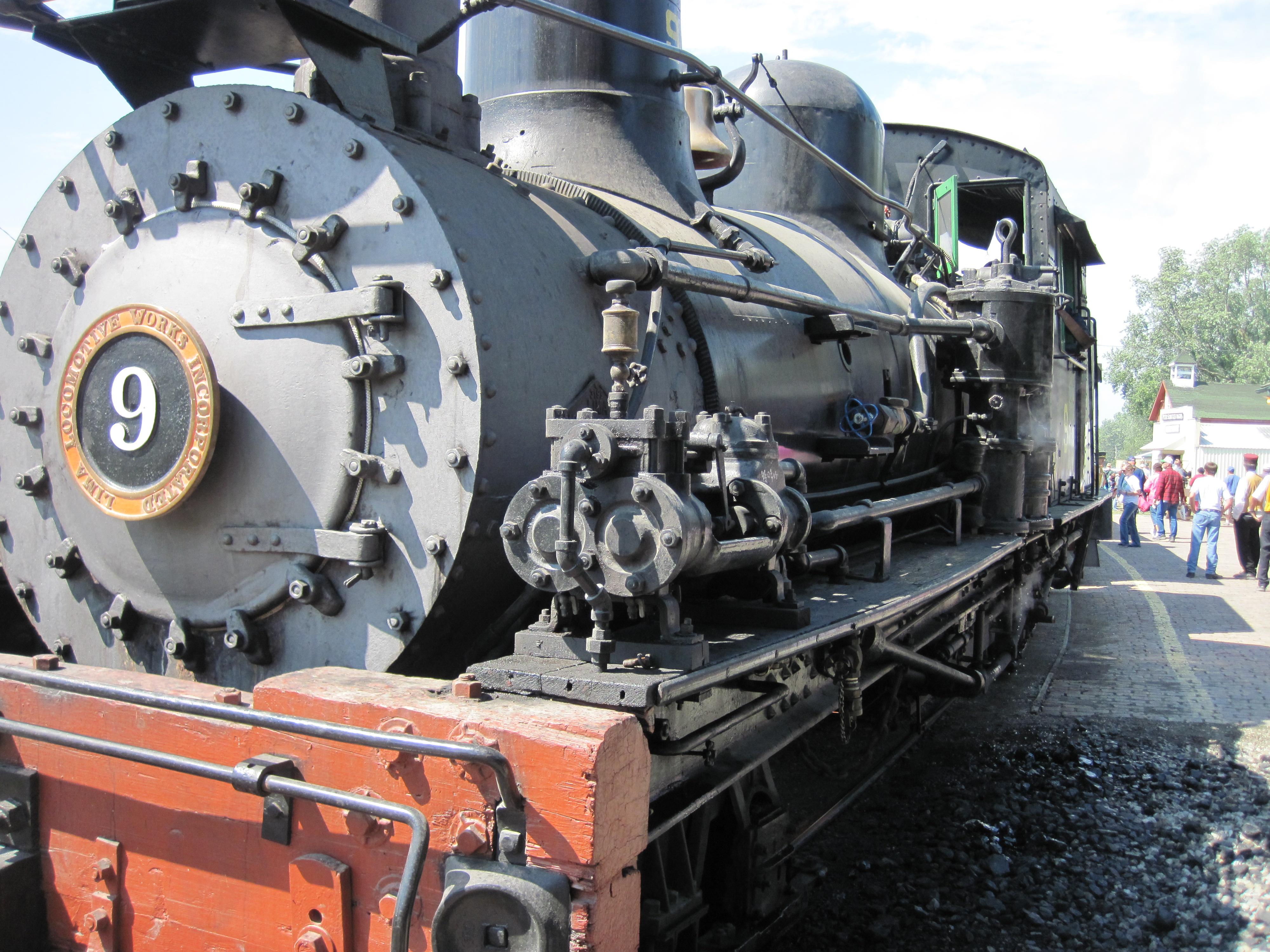 Lima Locomotive Works Drawings 1923 Shay Locomotive West