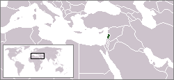 Location of Libano