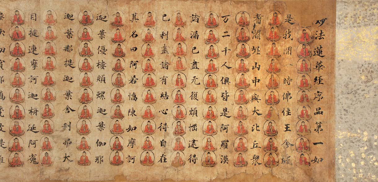 File:Lotus Sutra decorated with Buddhas.jpg