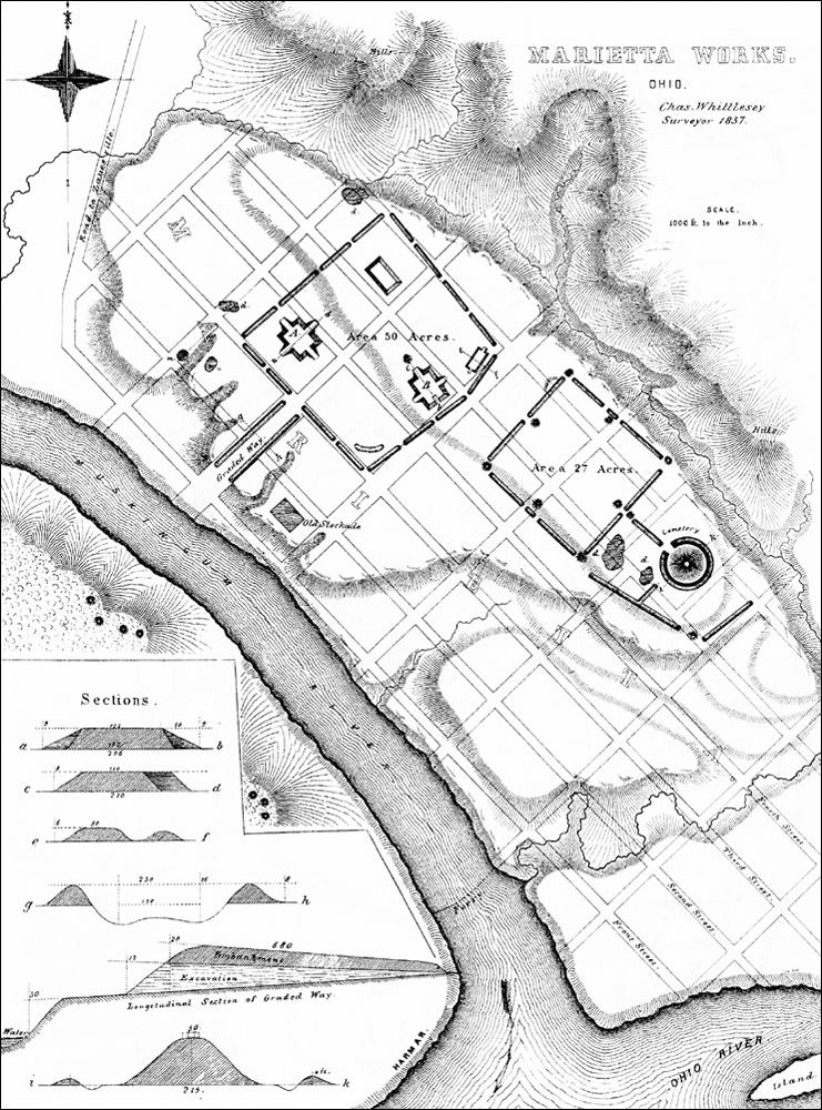 Mound Cemetery  Marietta  Ohio