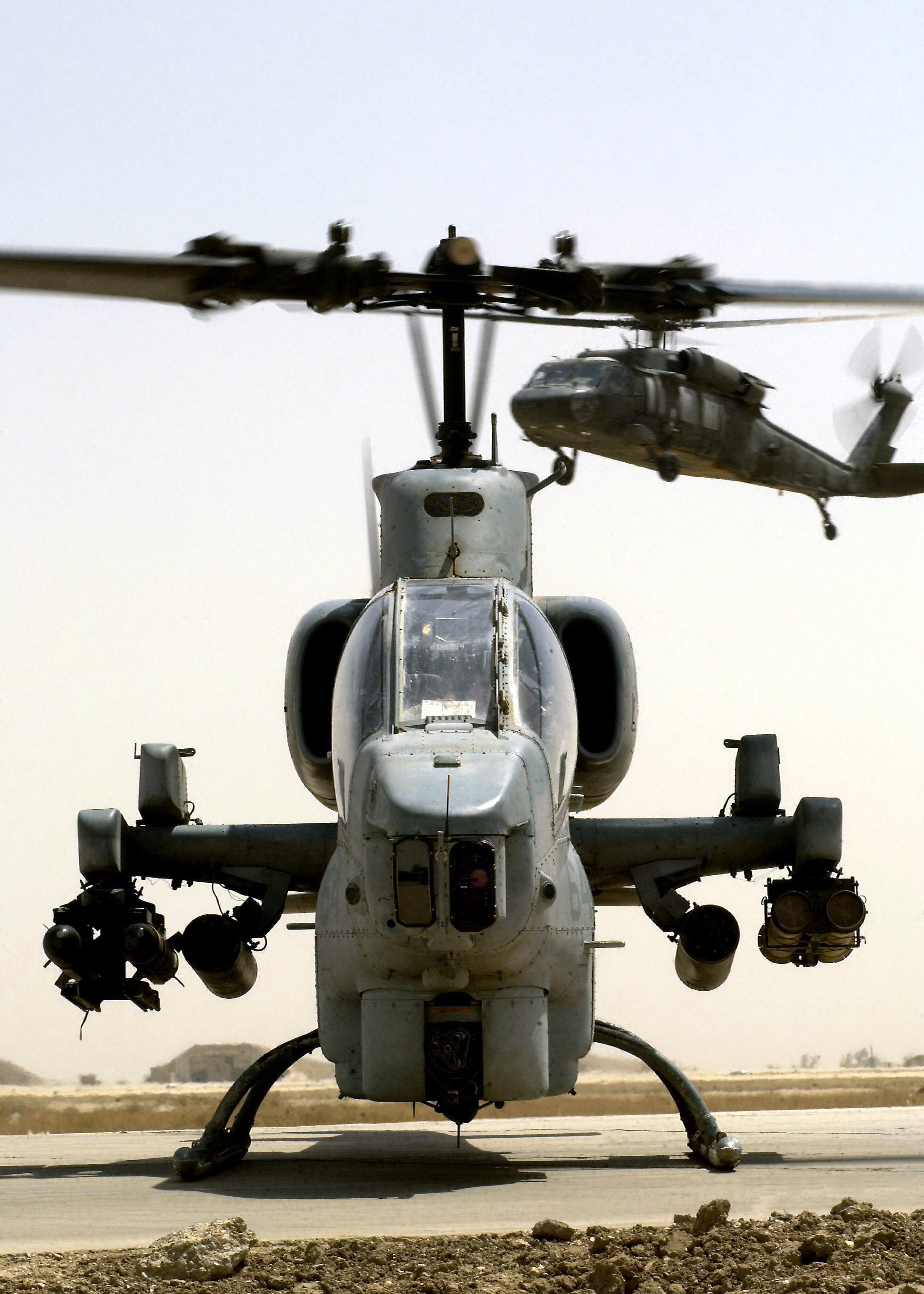 File:Marine AH-1W Super Cobra Tallil AB Iraq.jpg