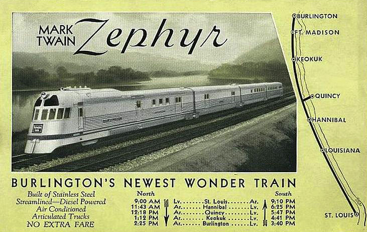 Mark Twain Zephyr
