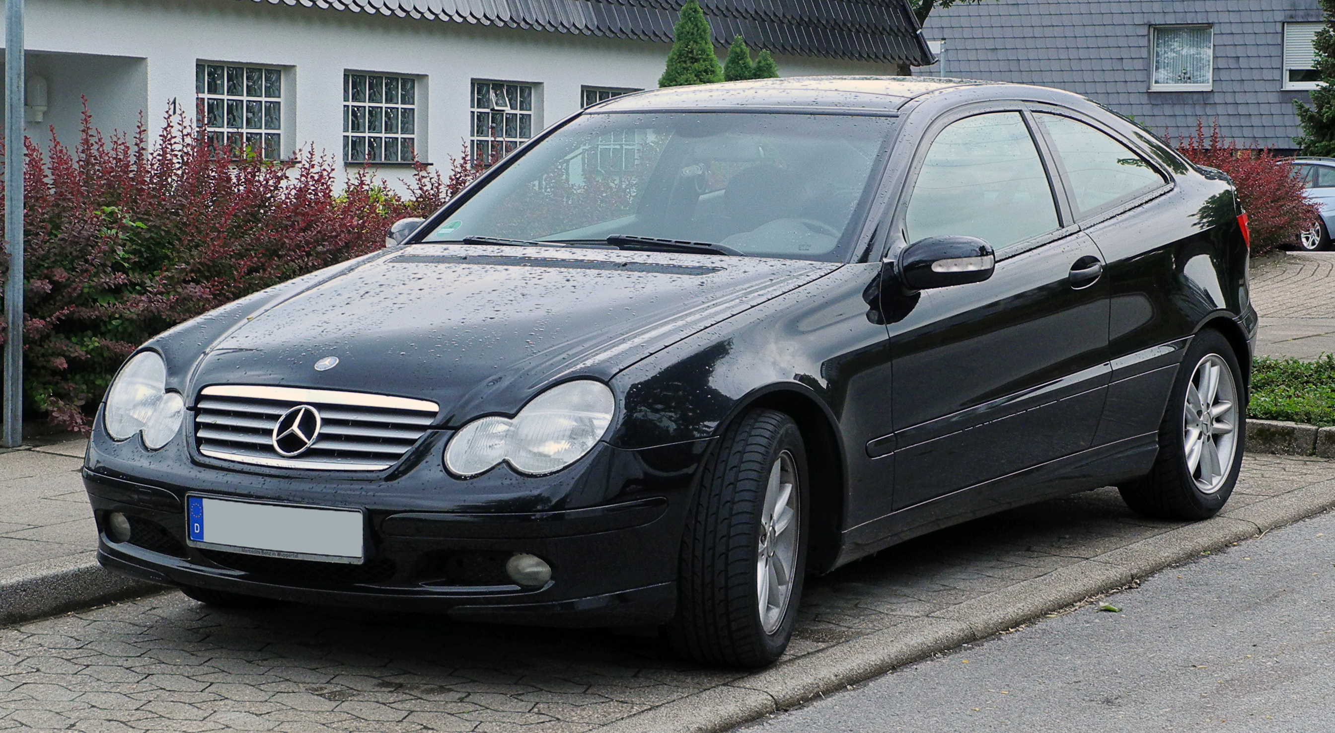 file mercedes benz c 230 kompressor sportcoup cl 203