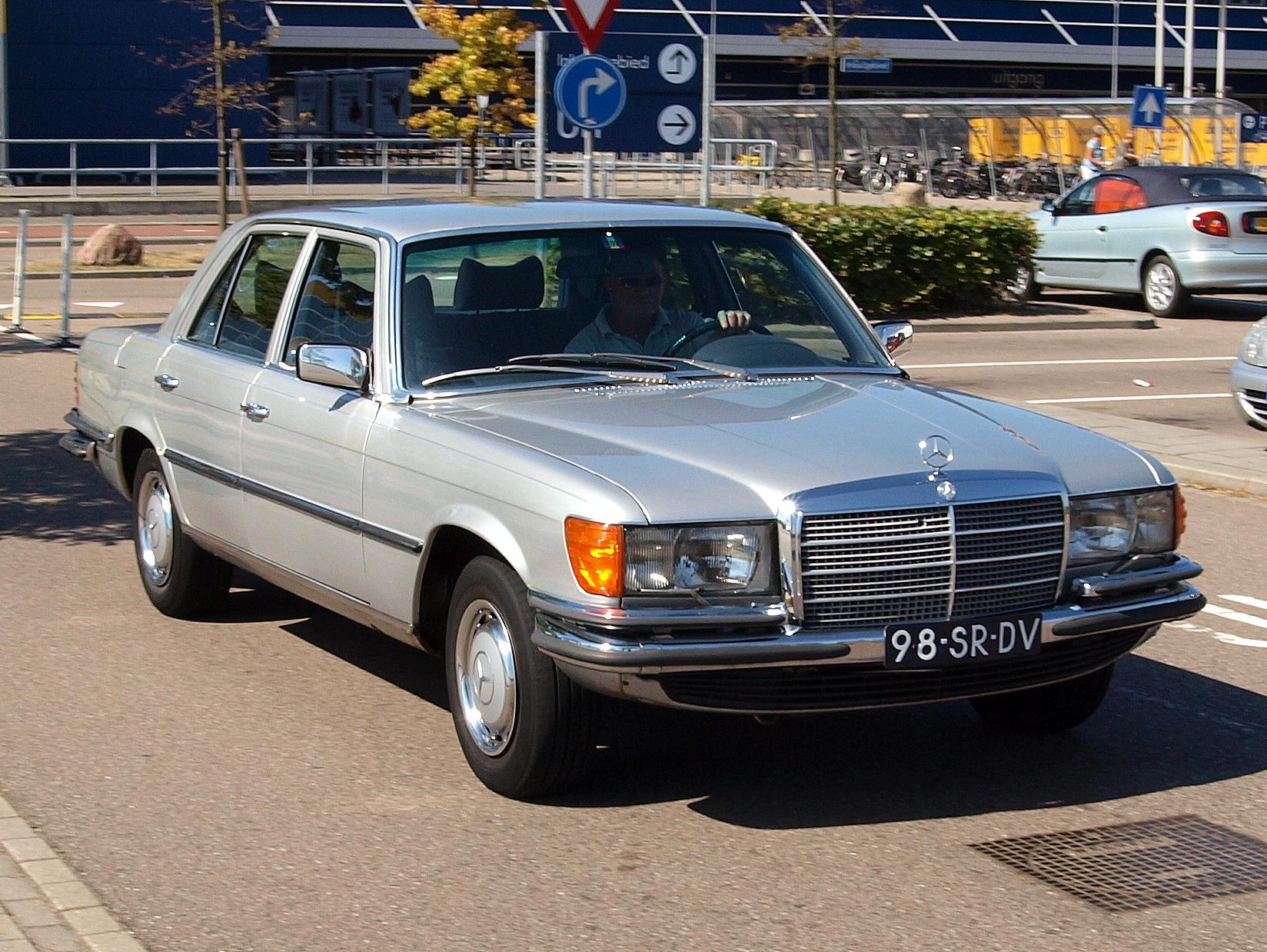 File Mercedes Benz 280se 98 Sr Dv Jpg Wikimedia Commons